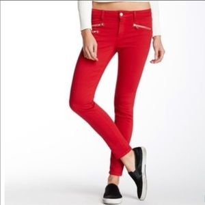 Joe's Jeans Rocket Skinny Pant Size 31 Jester Red